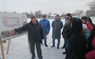 Николай Панков обсудил с пугачевцами строительство ФОК открытого типа