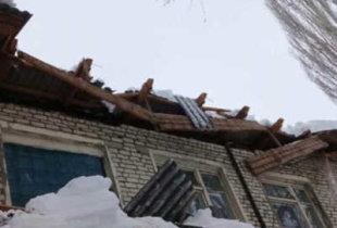 В Заволжском рухнула крыша детского сада