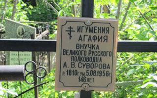 Загадка внучки Суворова