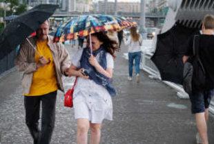Облачность, дождь и северный ветер