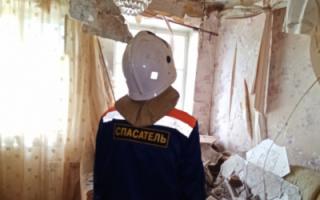 В Пугачеве в многоквартирном доме рухнул потолок