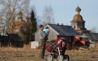 В России каждый пятый ребенок живет за чертой бедности