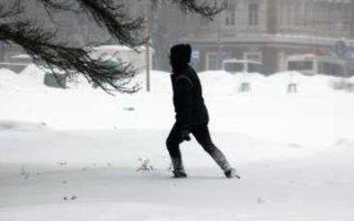 Возвращение снегопадов