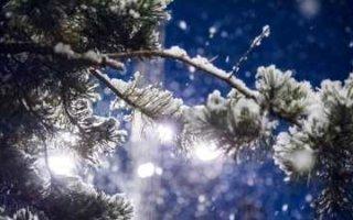 Новогодняя ночь будет морозной