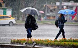 После дождей наступит похолодание