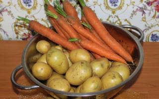 Резко подорожали картофель и морковь