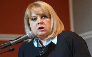 Э. Памфилова заявила о хакерской атаке на сайт ЦИК