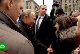 Власти трудоустроили женщину, спросившую у Путина как прожить на 10 800 рублей