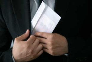 Число коррупционных преступлений в стране выросло на 16,5%.