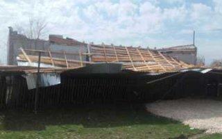 В Большой Тарасовке ветром снесло крышу детского сада