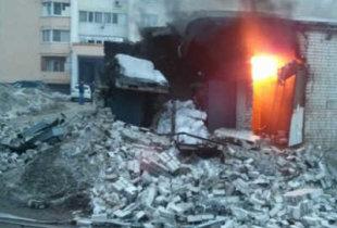 Взрыв электроподстанции в Саратове