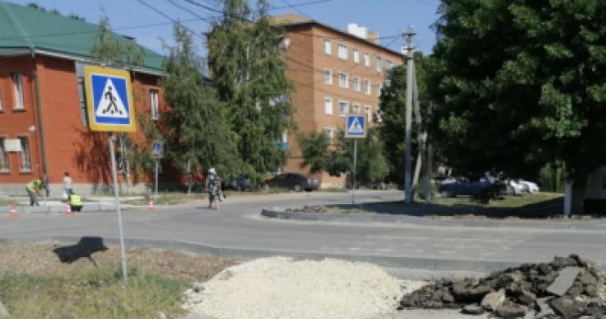 Как в Пугачеве дороги ремонтируют