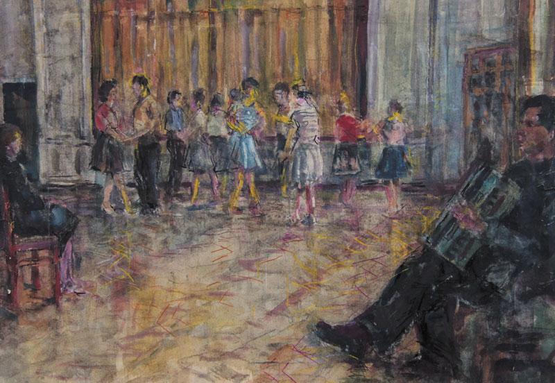 П. Лебедев. Танцы