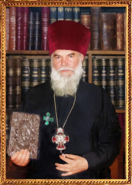 В.А. Мясников. Портрет протоиерея А.В. Капцова