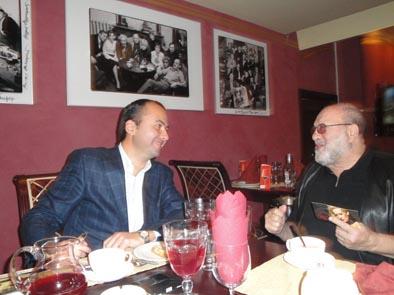 С дядей Мишей Гулько в Москве.2009г..