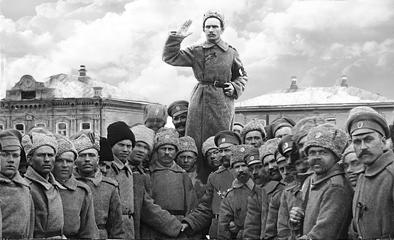 Ермощенко на митинге март 1917 гг