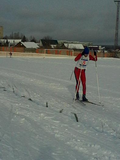 На дистанции 50км серебряный призер Севрюженко М.