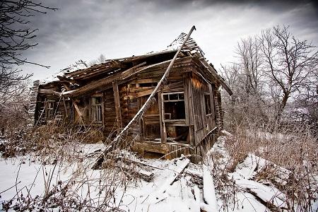 пустая деревня
